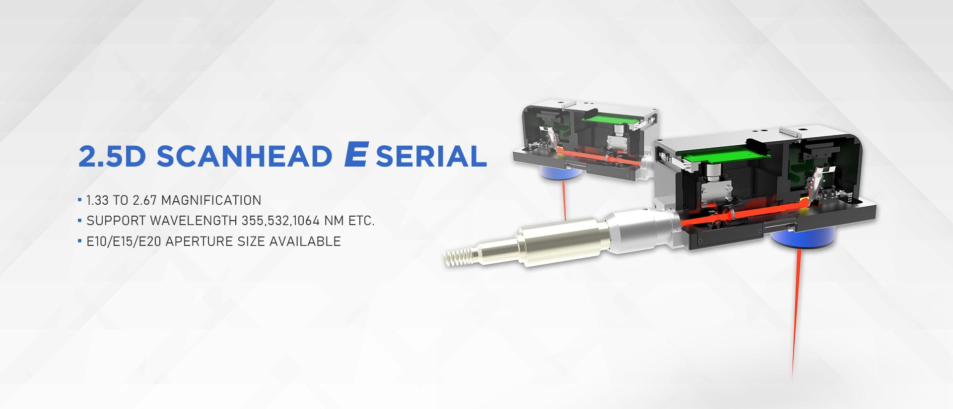2.5D Scanner Serial